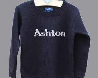 ab94c53972a Baby Boy Name Sweater