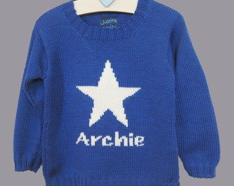 5c27dc98214 Baby Boy Star Sweater