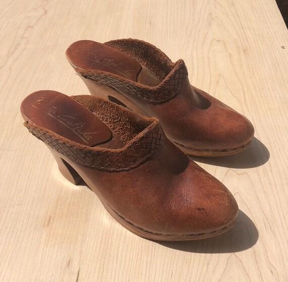 Lovely 70's clogs