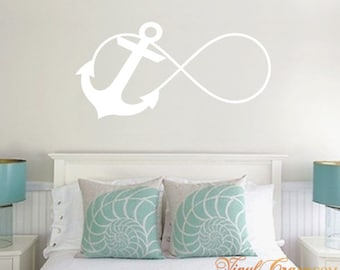 Anchor Infinity - Vinyl Wall Decal