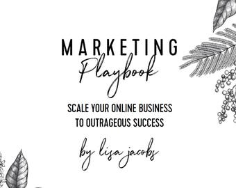 Marketing Playbook by Lisa Jacobs