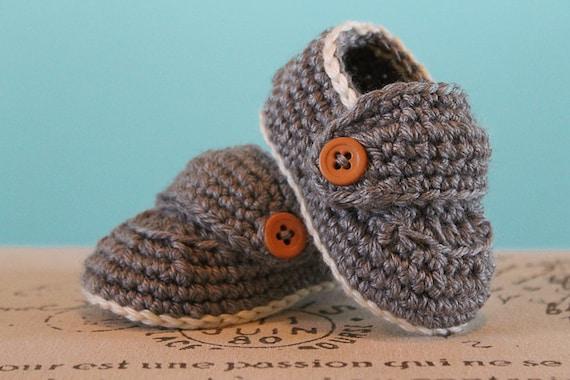 Crochet Pattern Pdf Crochet Baby Boy Booties Boy Loafers Etsy