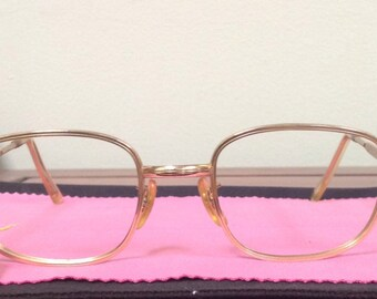8c9eb228b84 Golden News True Vintage 12k Gold Eyeglasses
