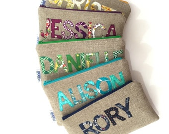 Personalized Wedding Clutch - Your Choice of Color