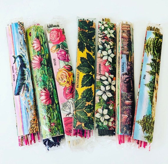 Vintage Incense Sticks India Meditation Perfumes