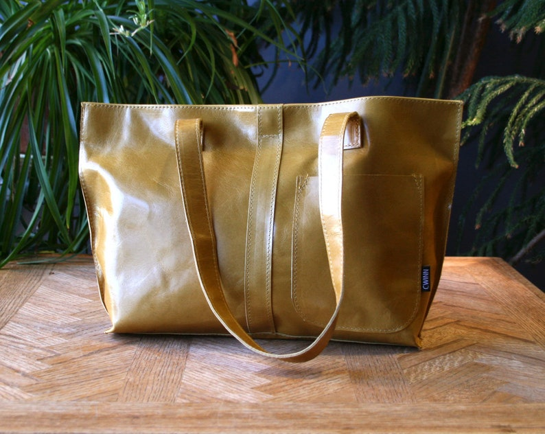 yellow leather mini tote bag-leather tote bags women-everyday tote bag leather-mini market tote bag-yellow hand bag leather mini tote bag
