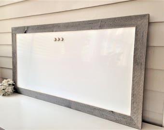 37888d6397c0d Magnet Bulletin Board Framed Fabric Magnetic by EleganceFarmHome