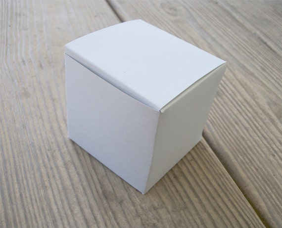 Large Printable Cube Box Template All Occasion Favor Box Pdf Etsy
