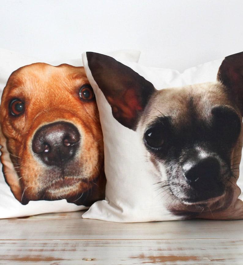Niestandardowe Spersonalizowane Wydruki Pies Dekoracyjne Poszewki Z Niestandardowych Obrazów Pies Custom Pies Poduszki Ozdobne Spersonalizowane Pet