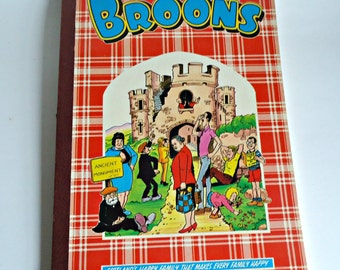 The Broons Book Scotland's Happy Family Comic Annual 1985