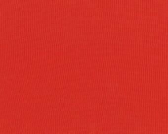 Kona Cotton in Pimento for Robert Kaufman -- 1/2 YD