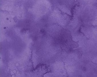 Watercolor in Violet from Moda -- 1/2 Yard