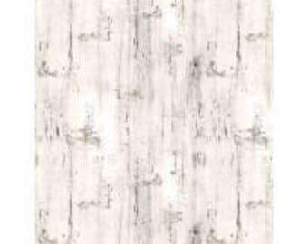 HOMESTEAD - Wood Texture Cream -- 1/2 YD