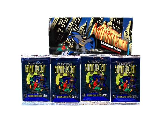 SkyBox Adventures Of Batman And Robin Trading Card Collector Pack Box