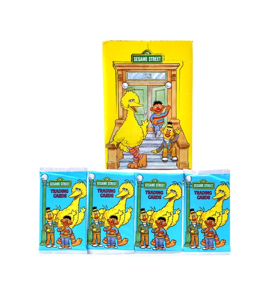 Image result for sesame street collector card pack