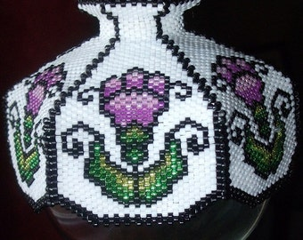 Made in the Shade Beaded Ornament Cover E-Pattern