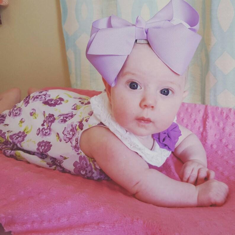 3Pcs//Set Baby Kids infant Fleur Nœud Serre-tête élastique cheveux bande Coiffure Beauté