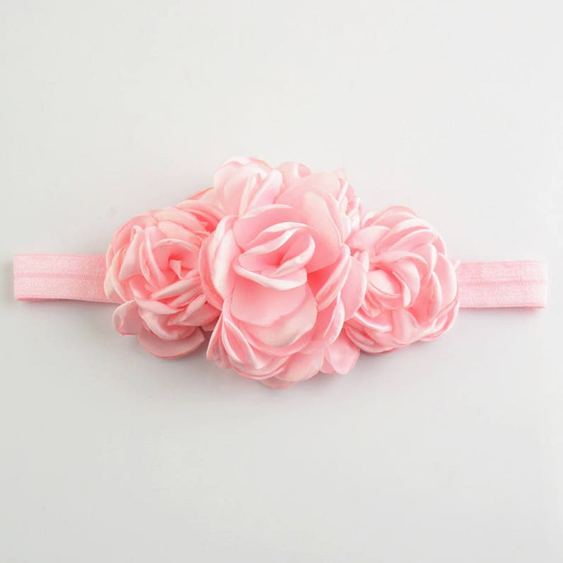 fabric headband toddler headband- 12 colors to choose Set of 12 flower headband Baby headbands Infant Headband Baby girl headband