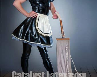 His Latex French Maid Dress