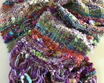 Handspun, handwoven Shawl/Wrap/Scarf