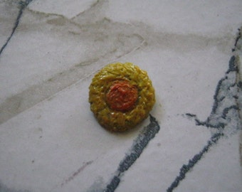 Fine Silver Mini Sunflower Charm