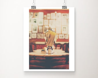 Cafe Sacher photograph, Salzburg photograph, European travel photograph, cafe photograph, coffee print, large wall art