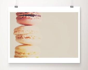 macaron photograph macaron print french decor food photography kitchen wall art paris photograph paris print food print