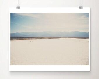 California photograph, Death Valley print, Bad Water Basin art, wilderness print, landscape photograph