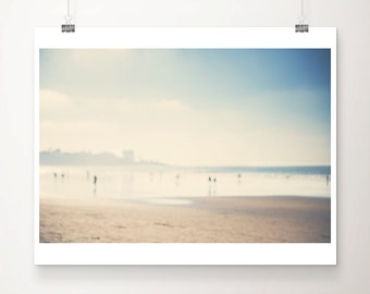 La Jolla beach photograph, Pacific Ocean print, San Diego print, abstract art, minimalist decor