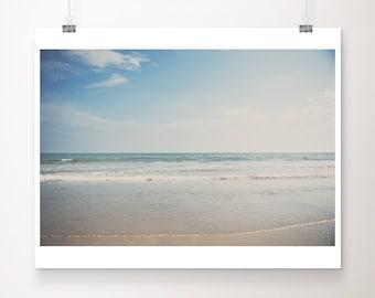 California print, beach photograph, Pacific Ocean print, San Diego wall art, west coast decor, landscape photograph
