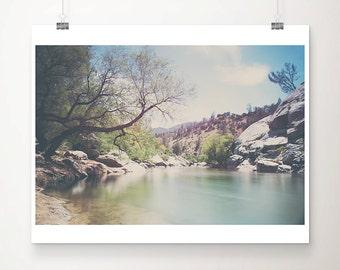 Kern river photograph, California mountains print, Sierra Nevadas print, landscape photograph, wilderness art