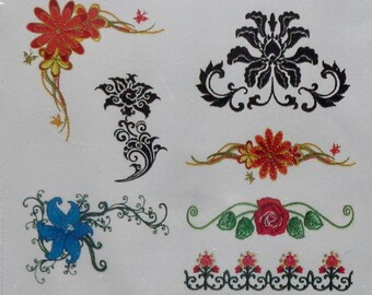Floriani Ebroidery | FLORAL BORDERS And CORNERS | Embroidery Design Collection | Machine Embroidery | Software | Brand New | Sealed