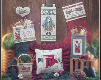 Cross Stitch Pattern | COUNTRY NOEL | Dimensions | Debbie Mumm | Santa Claus | Christmas | Counted Cross Stitch Pattern
