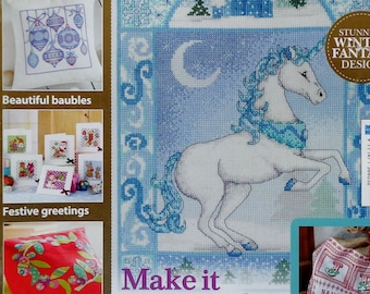 Cross Stitch Pattern | CROSS STITCH GOLD | Issue 106 | Magical Christmas | Counted Cross Stitch Magazine | British | Great Britain