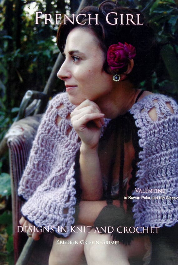 Crochet Pattern French Girl Knits Valentine Crochet Etsy