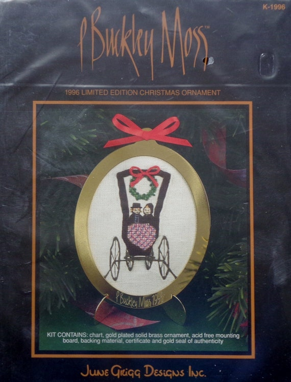 image 0 - P. Buckley Moss 1996 Limited Edition CHRISTMAS ORNAMENT Etsy