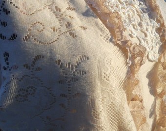 Prairie Lady Lace Vest from the line Sunwashed Prairie