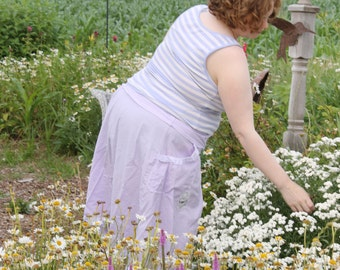 blissful lace edge wrap skirt from sunwahsed prairie