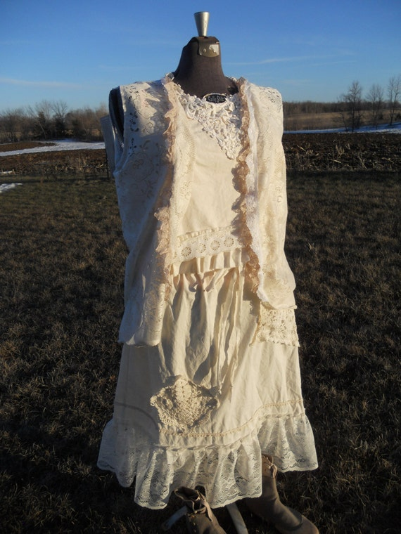 Prairie Girl Lace Skirt from Sunwashed Prairie