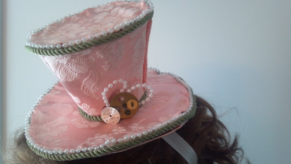 timeless traveler steampunk victorian mini top hat
