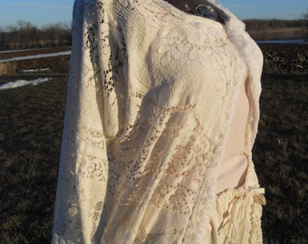 Prairie Ladies Lace Jacket of the Sunwashed Prairie line