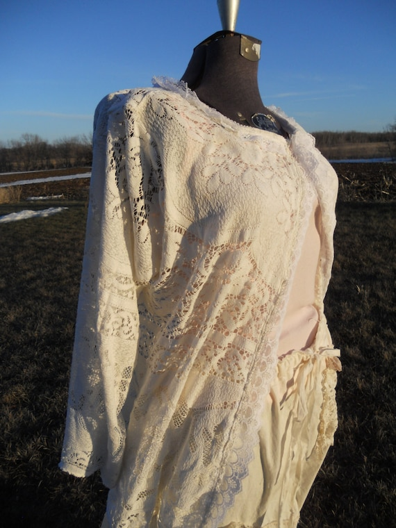 Prairie Ladies Lace Jacket of the Sunwashed Prairie line