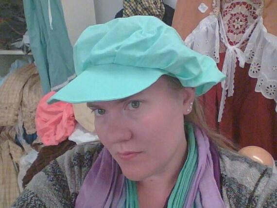 Frumpy baker hat with brim