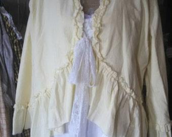 stagecoach riding ruffled jacket