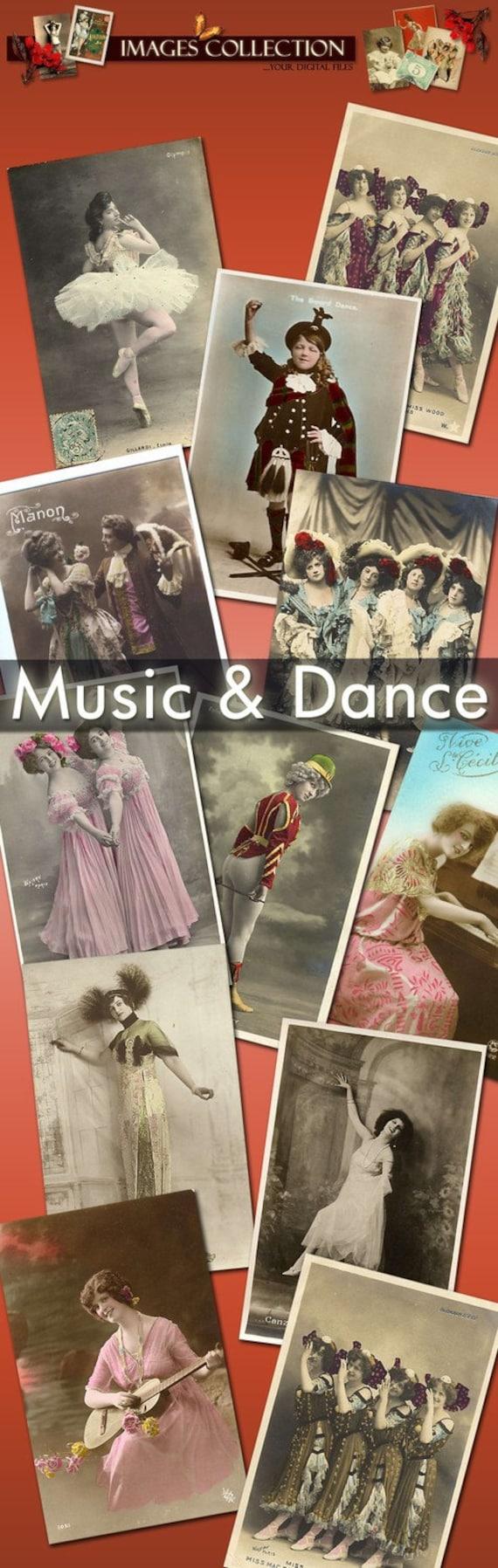Download digital images Fashion Collection 723 images cards labels lady vintage romantic 1900 ephemera paris france portrait love  C128