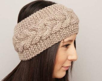 Knit earwarmer headband -COLOR OPTION available