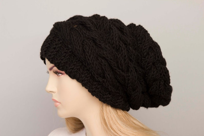 Big Sale Slouchy beanie oversized beanie hat winter knit hat  f14bb837ad12