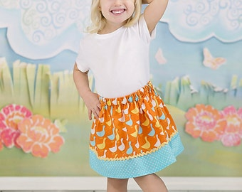 Blue Goose skirt ( 18 mos, 24 mos, 2T, 3T, 4T, 5, 6)