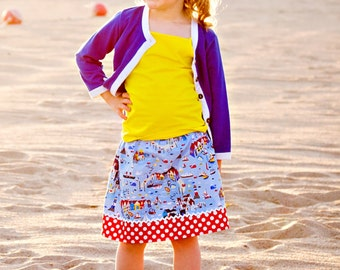On the Coast  Skirt   (18 mos,   2T, 3T, 4T, 5, 6, 7, 8)
