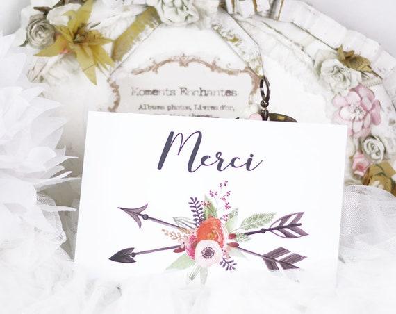 "Panneau fleurs mariage Baptême "" Merci """